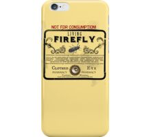 Living Firefly - Steampunk Apothecary Label iPhone Case/Skin