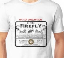 Living Firefly - Steampunk Apothecary Label Unisex T-Shirt