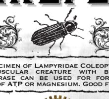 Living Firefly - Steampunk Apothecary Label Sticker