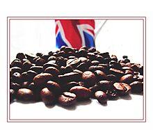 Coffee and England Photographic Print