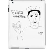 Tyler The Creator - Bitter Lemon  iPad Case/Skin