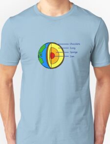 The Earth is a Cake. T-Shirt