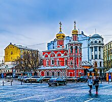 Old Square Of Moscow by luckypixel