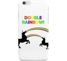 Double Rainbow Unicorn Vomit iPhone Case/Skin