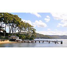 Seaside Landing - Broken Bay, Sydney Australia Photographic Print