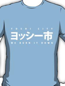 YOSHI市 White T-Shirt