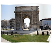 Marseillais Arch, Marseilles, France 2012 Poster