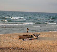 Malawi fisherman by chloegrace