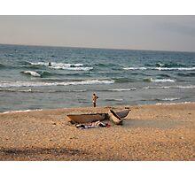Malawi fisherman Photographic Print