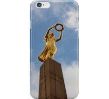 Golden Lady iPhone Case/Skin