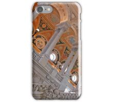 Inside The Library of Congress iPhone Case/Skin