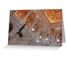 Inside The Library of Congress Greeting Card