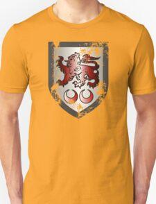 Clan Caomhánach (Kavanagh) Crest Distressed Unisex T-Shirt
