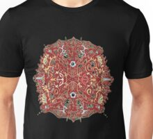 Crystal Complex Duo in Red Unisex T-Shirt
