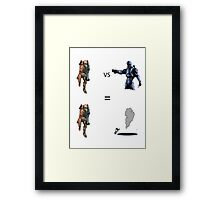 Rocket Launcher and Magnum Framed Print