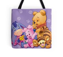 Baby Winnie The Pooh, Tigger, & Piglet Tote Bag