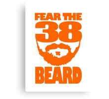 Fear The Beard Canvas Print