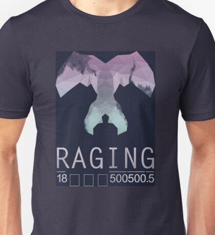 Raging Raccoon  Unisex T-Shirt
