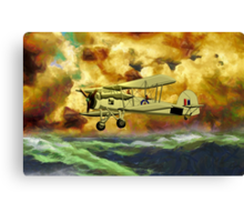 British WWII Swordfish Biplane - all products Canvas Print