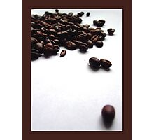 Spill the beans Photographic Print
