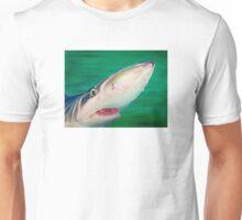 Blue Shark Portrait Unisex T-Shirt