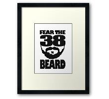 Fear The Beard Framed Print