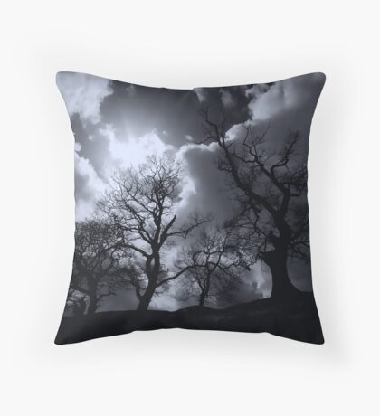 Abbey Trees, Shap Throw Pillow