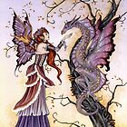 The Dragon Charmer by AmyBrownArt