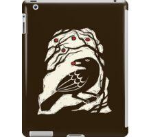 Autumn Berries Bird Print iPad Case/Skin