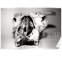 Miss you Poster