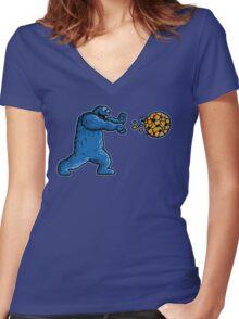 Cookiedouken Women's Fitted V-Neck T-Shirt