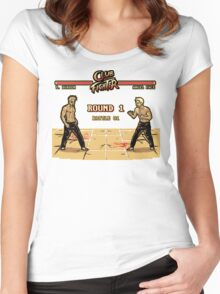 Club Fighter Women's Fitted Scoop T-Shirt