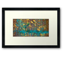 Drowning with ideas Framed Print
