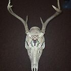 Celtic Stag with Acorn Wreath  by jkarlin