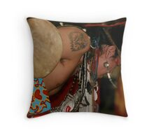 Potawatomie Dancer Throw Pillow
