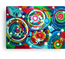 (Exploding) Exploring the neural pathway Canvas Print