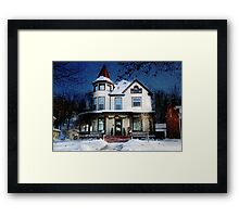 Once Upon a Midnight Clear Framed Print