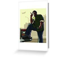 Big Smoke Greeting Card