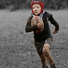 The Rugby Player by ovidiu