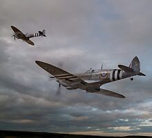 126 Squadron Spitfires by © Steve H Clark Photography
