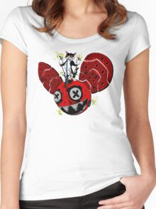 destruction  Women's Fitted Scoop T-Shirt