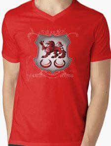 Clan Caomhánach (Kavanagh) Family Crest Mens V-Neck T-Shirt