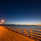 Pre-Dawn Pier by David de Groot