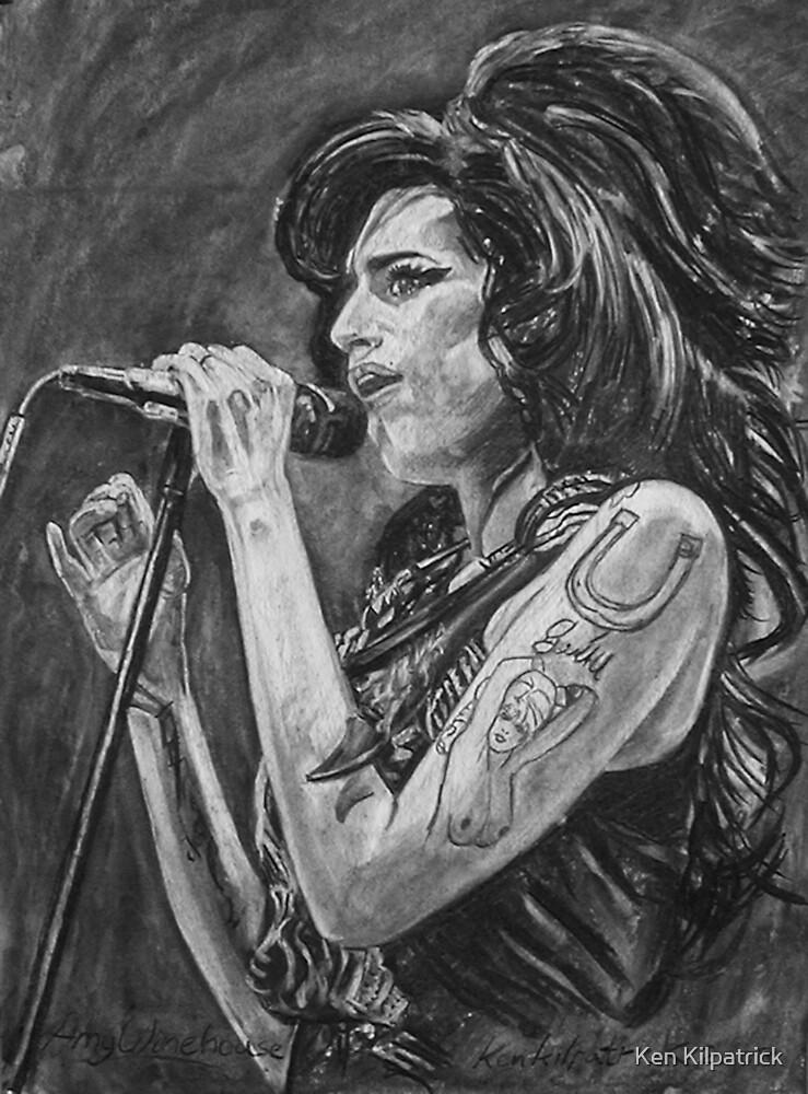 Amy Winehouse by Ken Kilpatrick