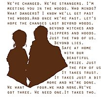 Into The Woods: Baker & His Wife Photographic Print