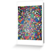 coloured circles Greeting Card
