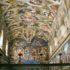 Sistine Chapel, Vatican by onfilm