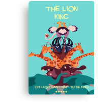 Lion king Canvas Print