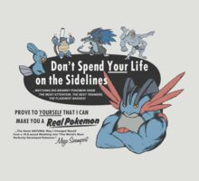 Pokemon - Mega Swampert - Get Buff Advert by Kaiserin