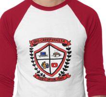 Bad Creepypasta COA (Colour) Men's Baseball ¾ T-Shirt
